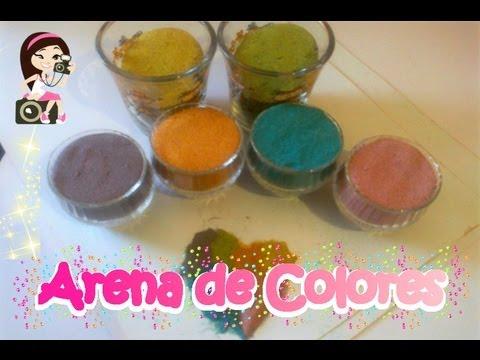 Como hacer arena de colores videos videos relacionados - Arena de colores ...