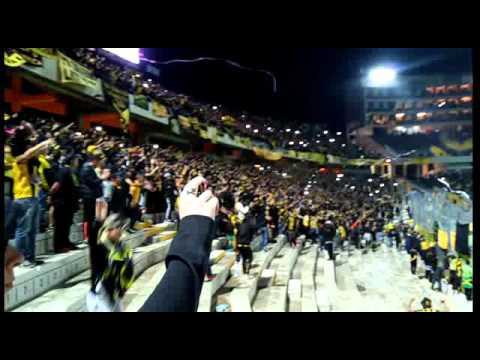 Hinchada Del Campeon Del Siglo/Tribuna Cataldi/Se Les Termina El Chamuyo De La Cancha - Barra Amsterdam - Peñarol - Uruguay - América del Sur