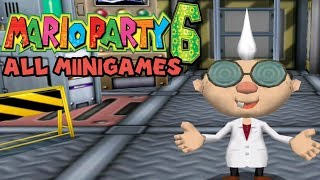 Mario Party 6 All Minigames  (1080p / 60 fps)►All Minigames Playlist: https://www.youtube.com/playlist?list=PLjen7U7PlzEp-mtSbgONUJjiQlQE-XZNM ►All Minigames in order:00:00 - All 4-Player Minigames 17:28 - All 1 vs. 3 Minigames23:06 - All 2 vs. 2 Minigames32:09 - All Battle Minigames38:32 - All Duel Minigames48:24 - All DK Minigames50:14 -All Bowser Minigames52:19 - All Rare Minigames59:20 - All Microphone Minigames ►Twitter : https://twitter.com/Xcagegame►Future Walkthroughs / Gameplays: http://goo.gl/wCvNro►Nintendo ID/ PSN / Xbox Live: Cageccc /Switch: SW-1782-6512-8513► No Commentary Gameplay Walkthrough by Xcagegame►Game Informations :