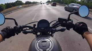7. Honda Rebel 300 Texas Highway Daily Commute