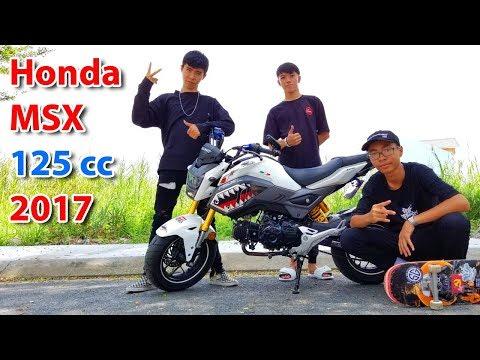 Honda MSX 125 - Côn tay 2017 - Tại sao 3 học sinh áo đen không chọn Winner hay Exciter ? - Thời lượng: 10:00.