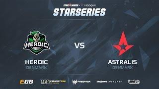 Astralis vs Heroic, game 1