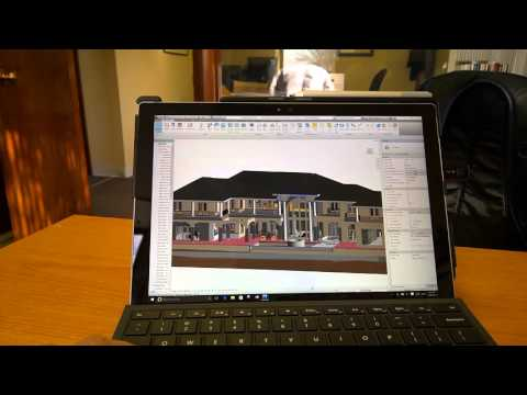 Revit 2016 on Surface Pro 4