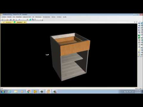 Polyboard tutorial kitchen cabinets desing