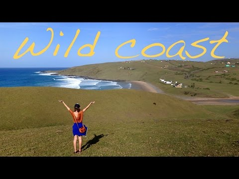 Scenic hike along the Wild Coast, South Africa
