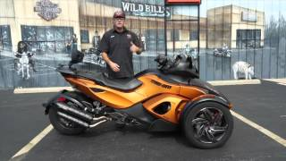 4. 2013 Can-Am Spyder RS-S SE5