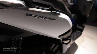 8. 2015 Honda Forza 125, up-close at 2014 EICMA Milan Motorcycle Show