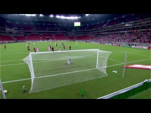 juan - A nice build-up to the top of the circle by Nautico against Sport Recife in the Copa Sudamerica set up the Uruguayan to launch this brilliant swerving shot. ...