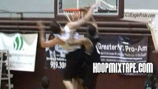 Duke Player Dunks On His Future Teammate And Nolan Smith Drops Kid!!! Top Ten Plays From 7/3/10!