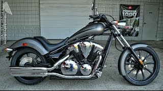 4. 2016 Honda Fury 1300 Chopper Walk Around Video - Silver VT13CX / Cruiser / Motorcycle