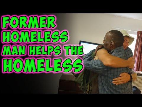 Former Homeless Man Pays It Forward