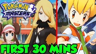 Pokemon Masters Gameplay Part 1 - First 30 Minutes Of Pokemon Masters by Verlisify
