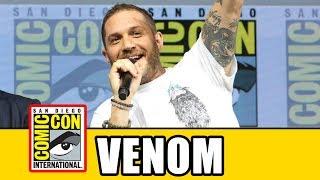 Video VENOM Comic Con Panel - Tom Hardy MP3, 3GP, MP4, WEBM, AVI, FLV Agustus 2018