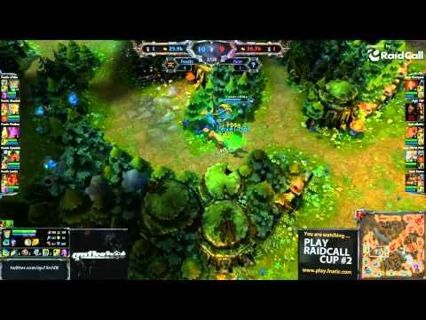RaidCall LoL #2: FnaticRc vs Acer map 3