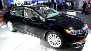 2014 Acura RLX   Exterior And Interior Walkaround   2013 New York Auto Show