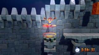 Crash Bandicoot N. Sane Trilogy Nivel Stormy Ascent (Ascenso Tempestuoso) Este nivel fue eliminado del juego original, ya que...