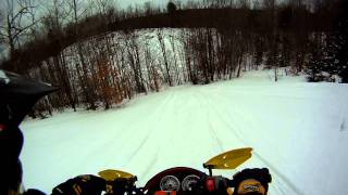 6. Ski-Doo MXZ-X 600 Side Trail Climb