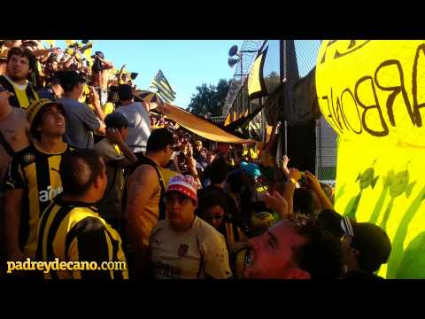 Peñarol copó Sarandí - Libertadores 2014 - Barra Amsterdam - Peñarol - Uruguay - América del Sur