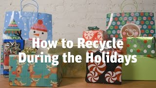 The holidays generate a lot of waste, from decorations to wrapping paper. These tips will help you trim it down, recycle what you can, and do the world a little good. Read more: http://lifehacker.com/how-to-recycle-during-the-holidays-1790416540Lifehacker: Tips and downloads for getting things done.http://lifehacker.com/