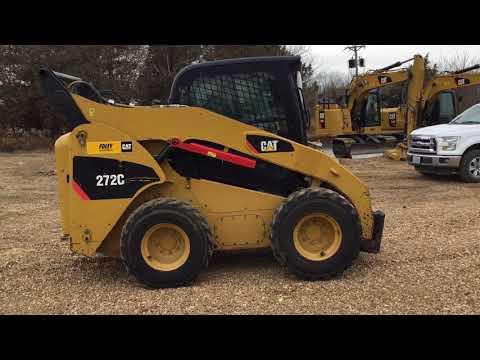 CATERPILLAR SKID STEER LOADERS 272CSTD2C equipment video xd8IR1sOmbg