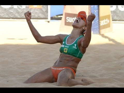 Beach volley Rebecca Silva/Juliana x Taina/Victoria5 ETAPA 2016/2017 SAO JOSE (видео)