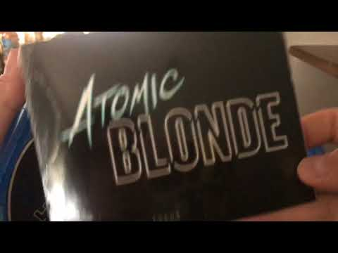 Atomic Blonde Blu Ray Unboxing! (Target Exclusive)