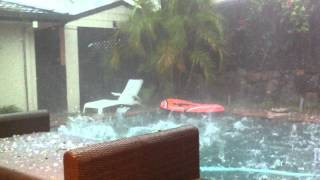 Hail Super Storm In Australia