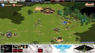 Vòng Thách Thức ACTW7   Bùi Quang Thọ vs Chim Sẻ Đi Nắng Trận 6, game đế chế, clip aoe, chim sẻ đi nắng, aoe 2015
