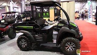 8. 2015 Kawasaki Mule 610 XC Utility ATV - Walkaround - 2015 Salon Expert Chasse Peche QC