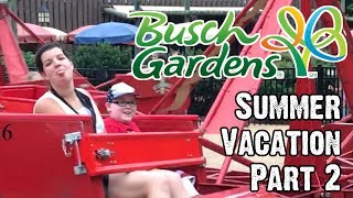 The summer adventure continues as Dee & Jay wander around Busch Gardens Williamsburg with A.J. & the family in tow. Join us as we ride a few rides, see a few...