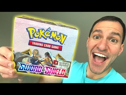 *NEW POKEMON SWORD AND SHIELD CARDS ARE HERE!* Opening ENTIRE Pokemon Cards Booster Box!