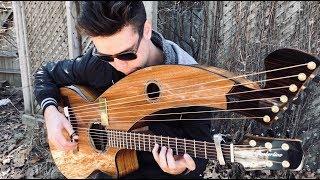 Goodbye Blue Sky - (Pink Floyd) - Harp Guitar Cover - Jamie Dupuis