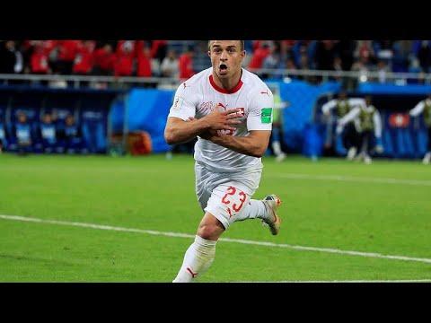Fußball-WM: Schweiz gewinnt 2 zu 1 gegen Serbien - en ...