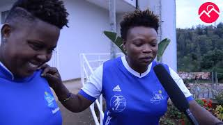 Malaika na Feza, abakobwa b'aba-Rayon badasanzwe bibasiye APR FC