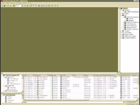 Active Fax arşiv video. Kağıtsız ofis çözümleri. Fax yazılımı. Act Fax