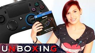 Nacon Revolution Pro Controller/ PS4 MANDO - Unboxing y Review ¡MANDO ESPECIAL PARA ESPORTS!