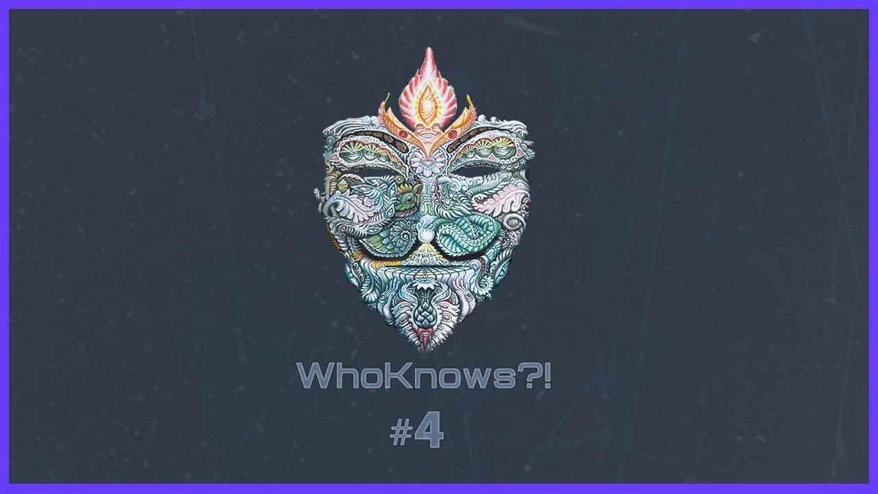 ✺ WhoKnows?! ✺ #4 – Wir suchen des Lösungs Rätsel