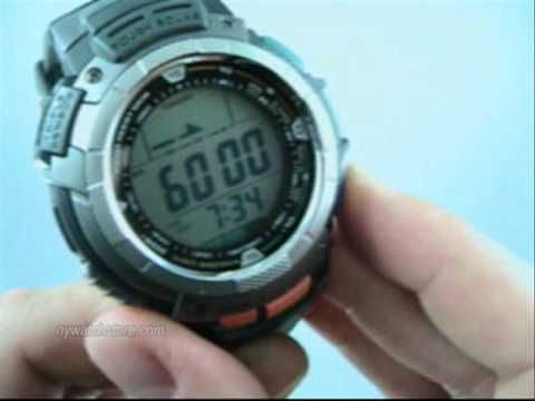 Casio Pathfinder PAG80-1V watch. Protrek PRG-80-1VER.