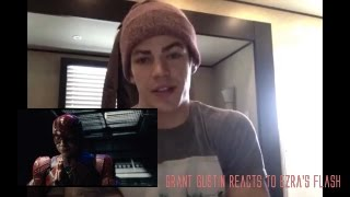 Video Grant Gustin (The Flash) reacts to Ezra Miller's Flash teaser | Justice League Reaction MP3, 3GP, MP4, WEBM, AVI, FLV Desember 2017