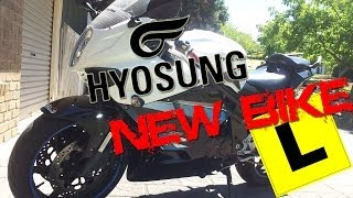 7. Hyosung GT650R - A Good Learner Bike?