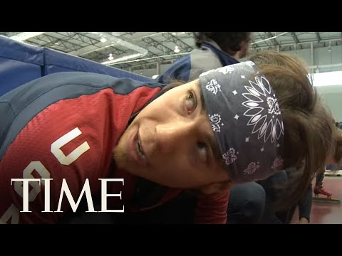 Apolo Ohno - TIMEs Sean Gregory learns how Apolo Ohno is preparing for Vancouver, but catching Apolo on-camera as he whizzes by at 40 mph is a challenge. To watch more vi...