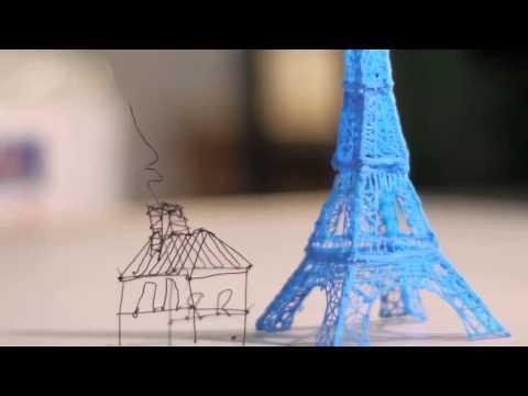 3Doodler — Der erste 3D Druck-Stift der Welt!