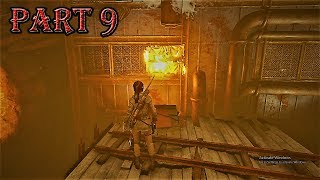 Rise of the Tomb Raider Walkthrough Gameplay Part 9| How To Play Ris Tomb Rider Pc Game | Games Tomb