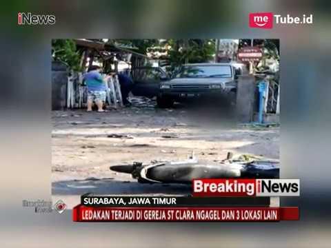 Pelaku Ledakan Bom Gereja Surabaya Gunakan Sepeda Motor - Breaking News 13/05