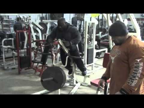 Antrenament Powerlifting Spate Johnnie Jackson