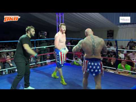 HARI MILES VS JOSH BURNS - BKB4 HEAVYWEIGHT BARE KNUCKLE FIGHT * EXCLUSIVE *