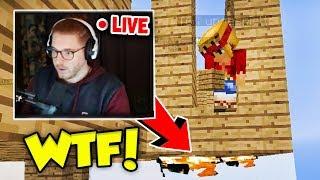 Wir trollen Ungespielt in seinem Livestream mit Admin Rechten (Minecraft Trolling)!