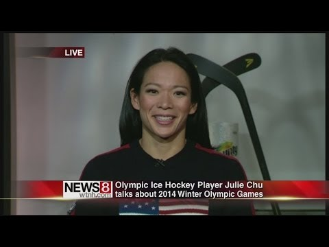 Connecticut Olympian Julie Chu gets ready for Sochi