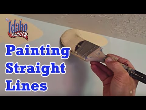 idaho painters - A quick look at how a long time professional painter does ceiling and crown molding cut-ins. Chris, The Idaho Painter, gives simple explanations, tips, and s...