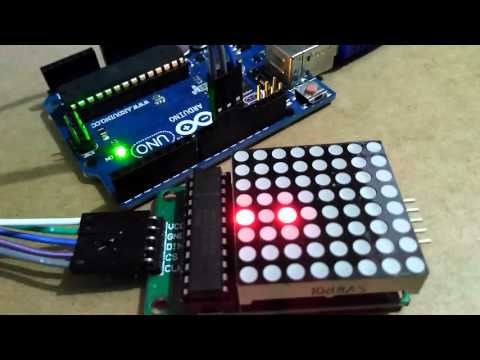 RGB LED 7 Colour Matrix - 8x8 - Your UK source for Arduino